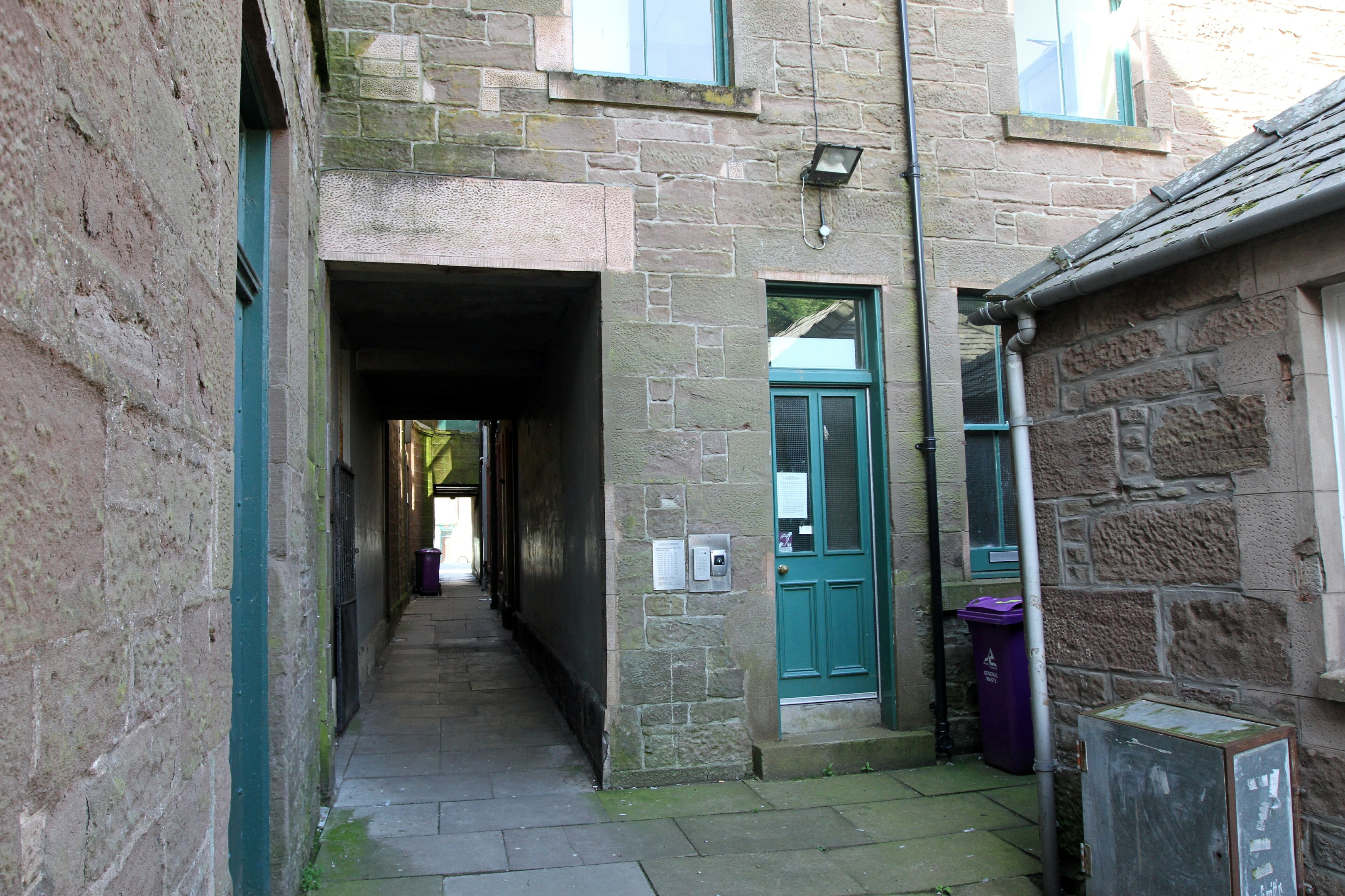 The Queens Close homeless unit in Montrose