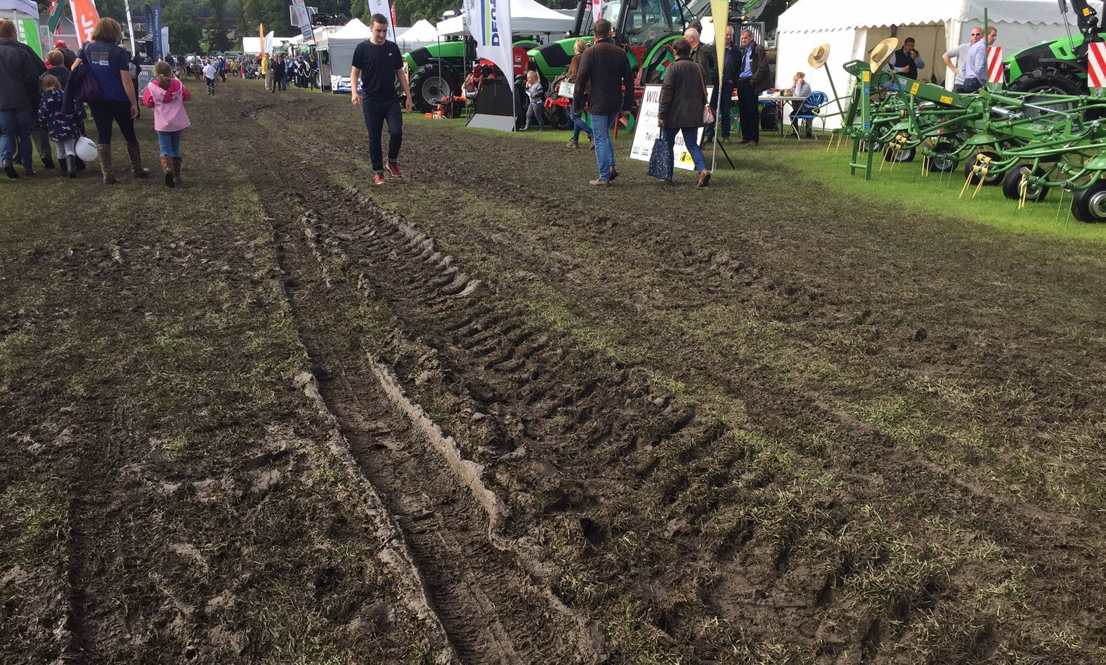 The Lesser South Inch during Perth Show.