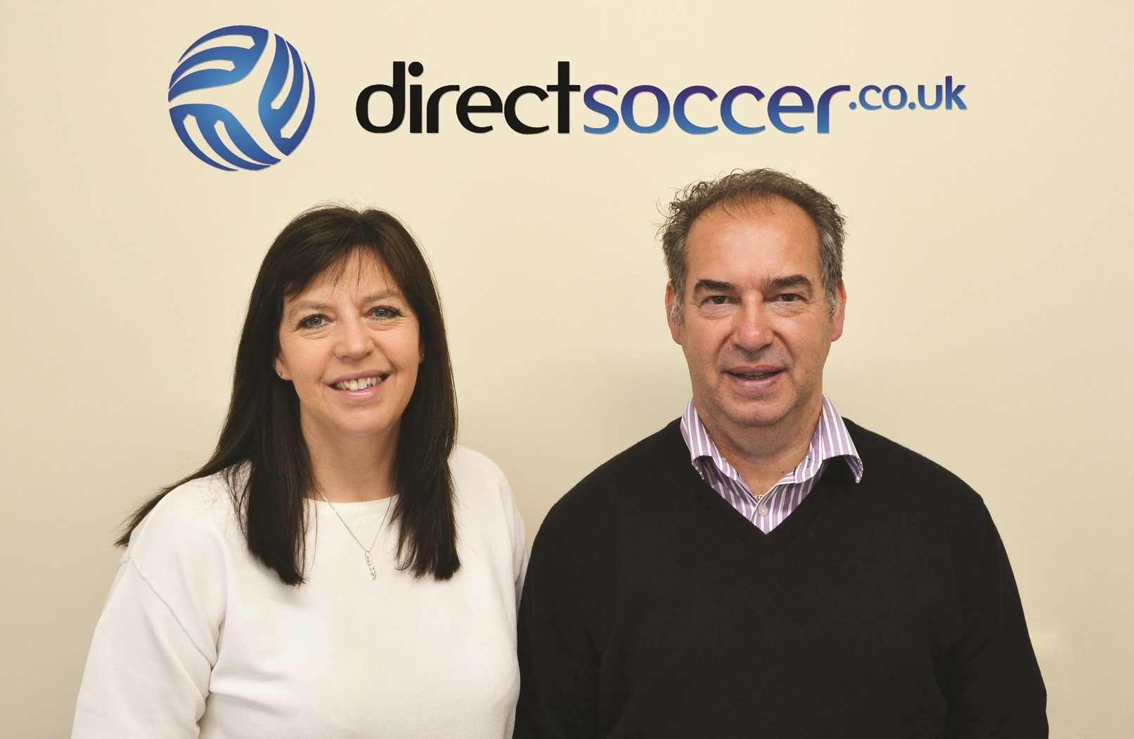 Joyce and Bryce Gibson set up Direct Soccer in Dundee