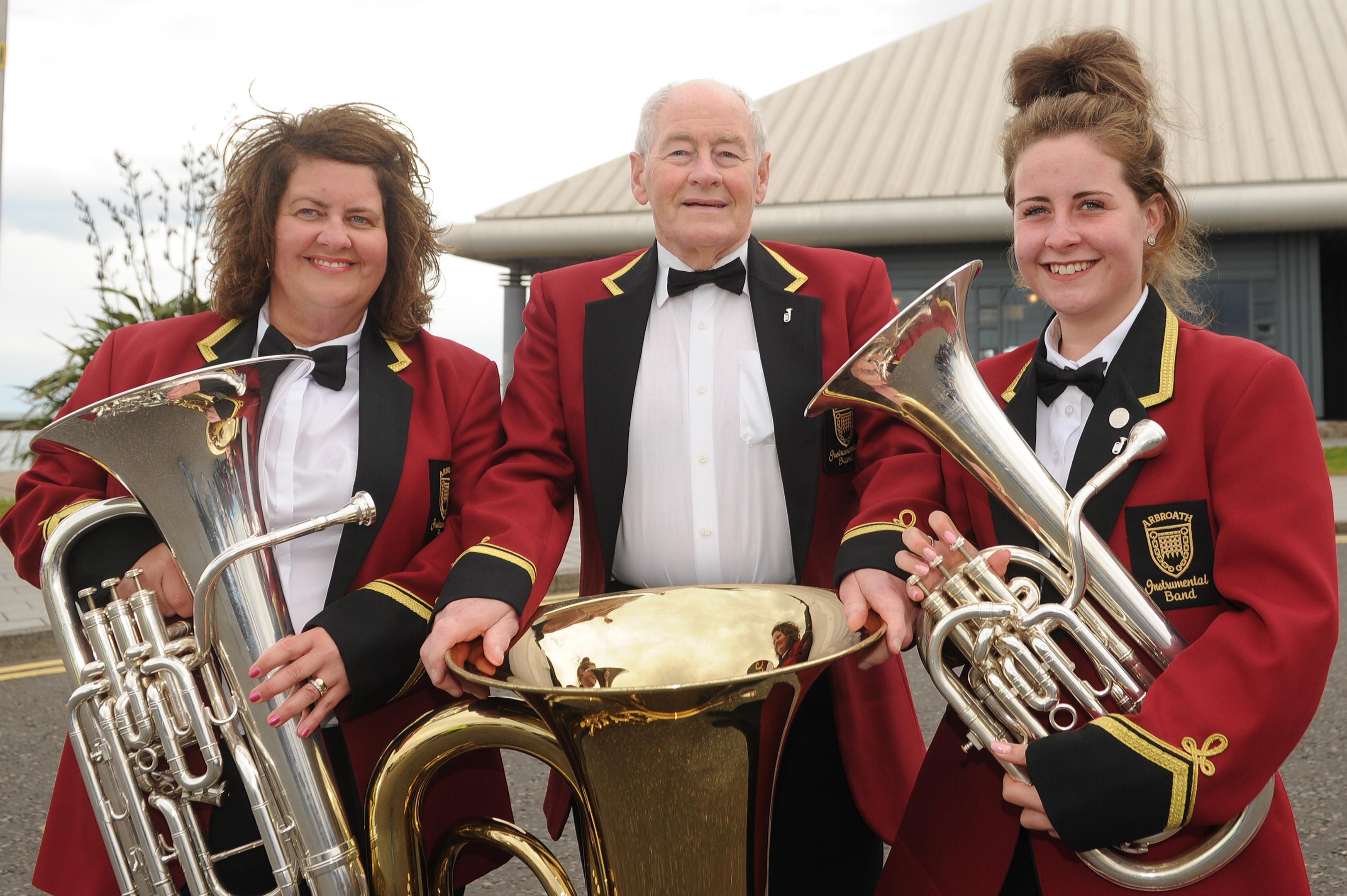 Shirley Bennett, Bob Johnston and Holly Bennett