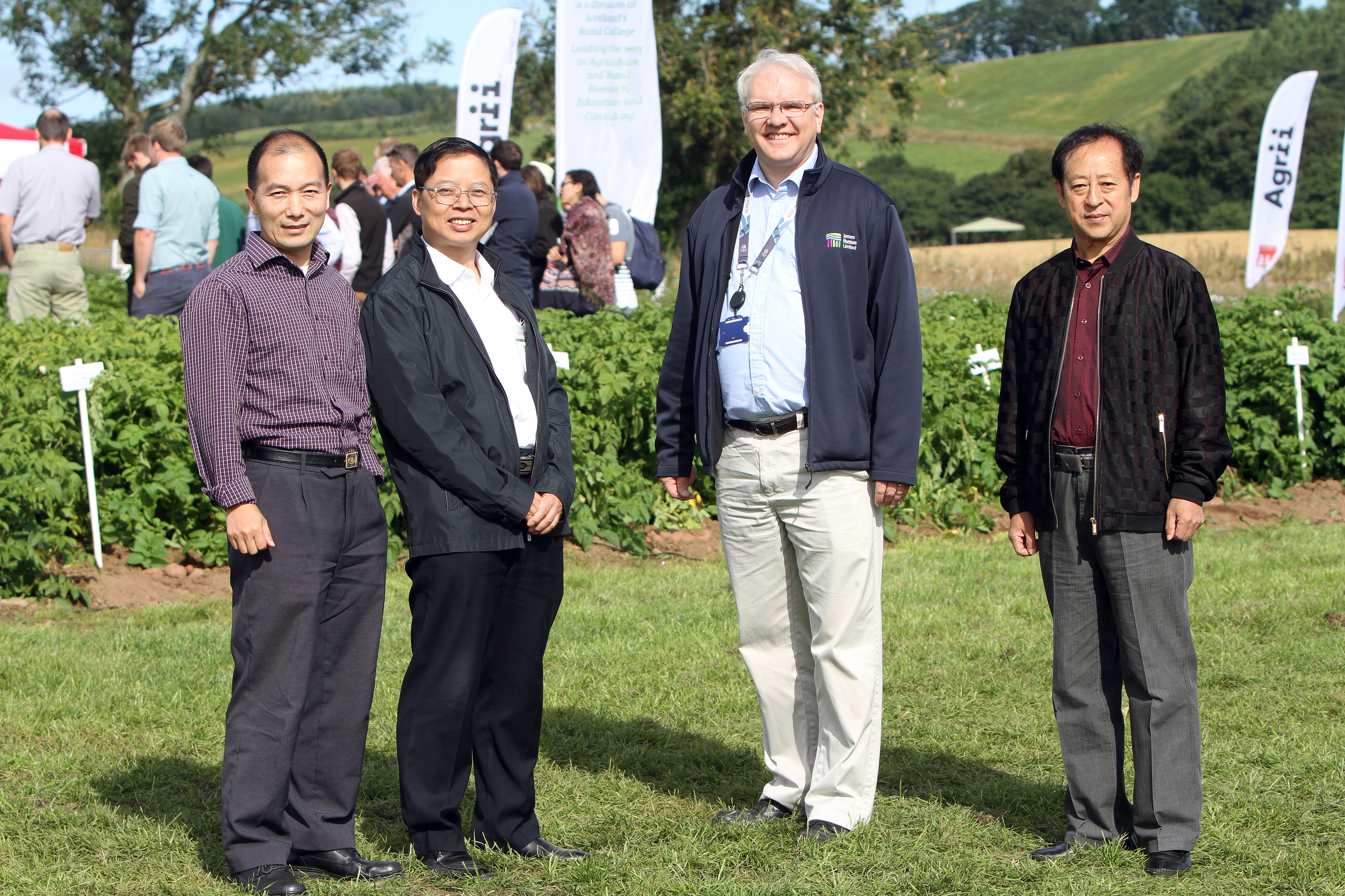 Scientists from Dundee will work alongside Chinese researchers to breed new varieties  and improve tuber storage and processing