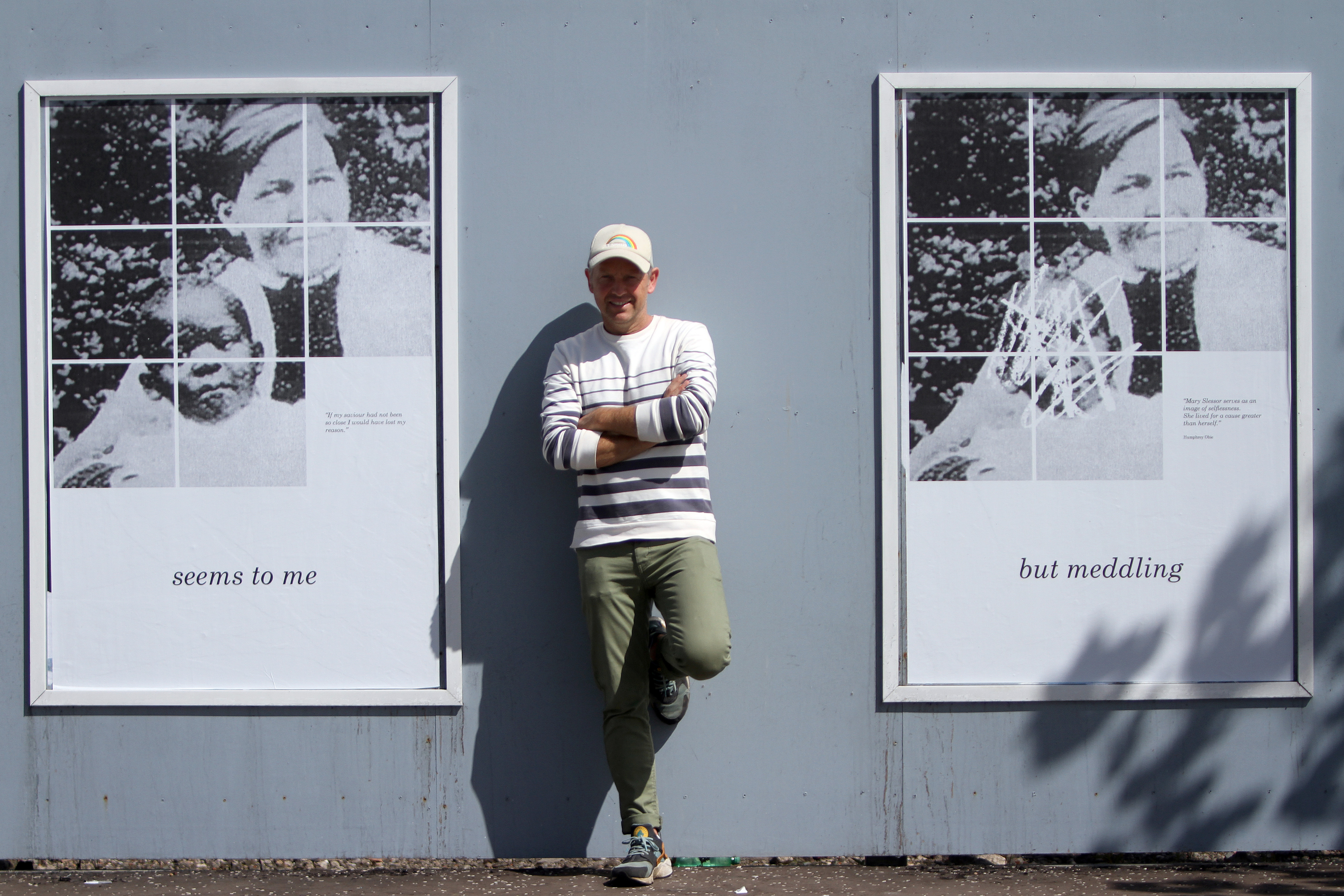 The art exhibition aims to spark debate.