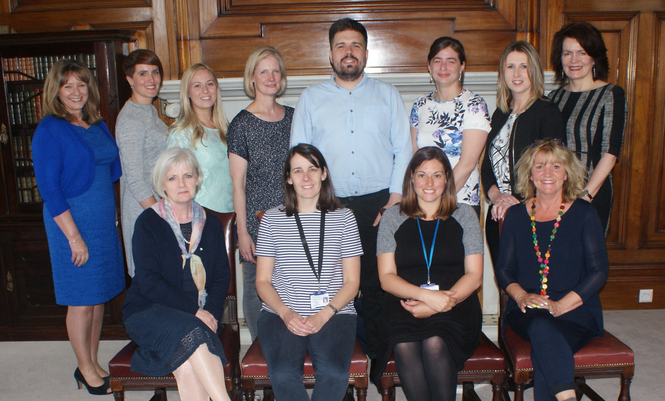 Some of the council team who have graduated from the Learn to Teach programme.