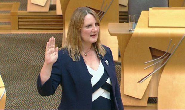 South Scotland MSP Michelle Ballantyne