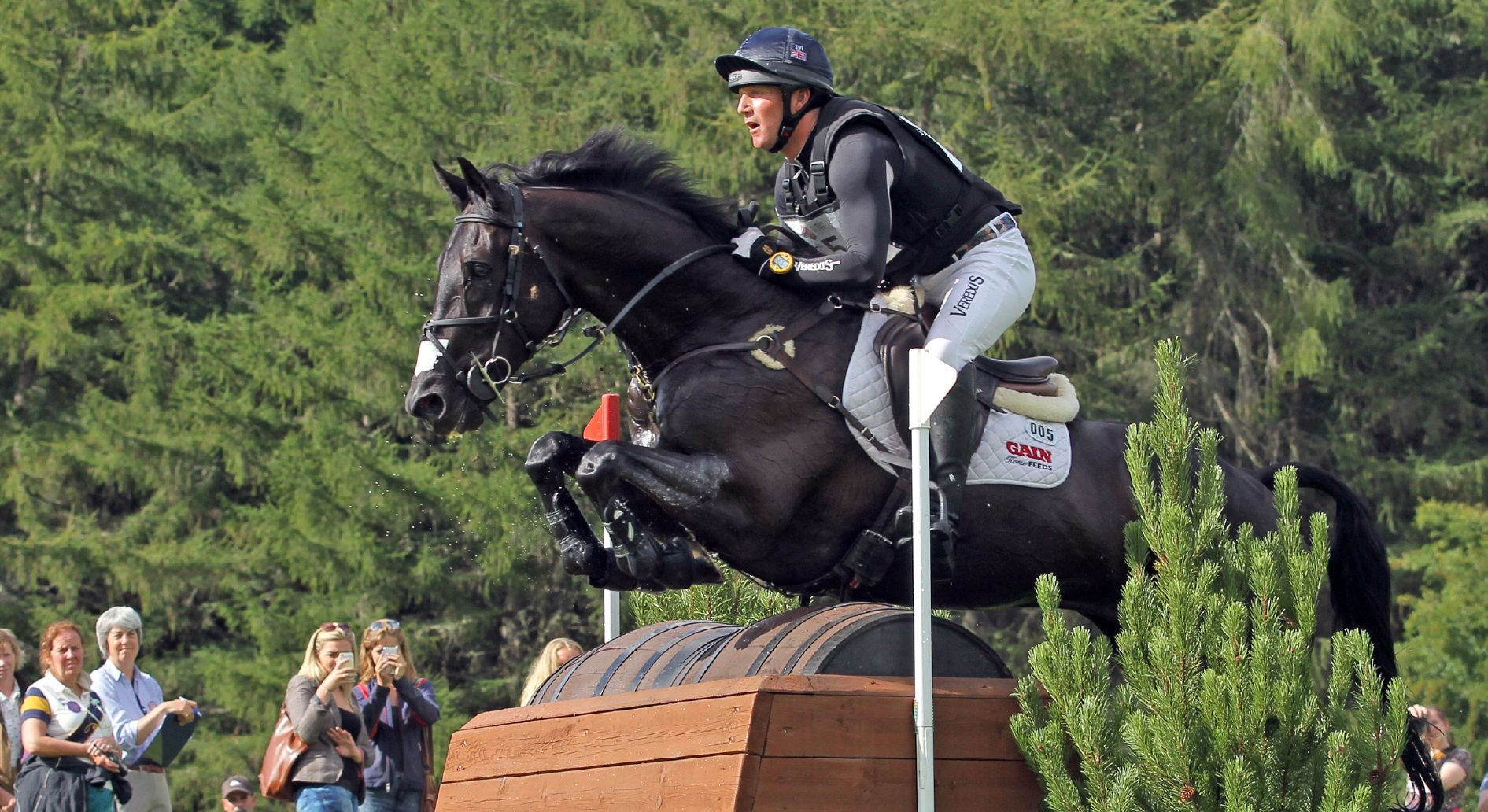 Oliver Townend in action on Cilnabradden Evo.