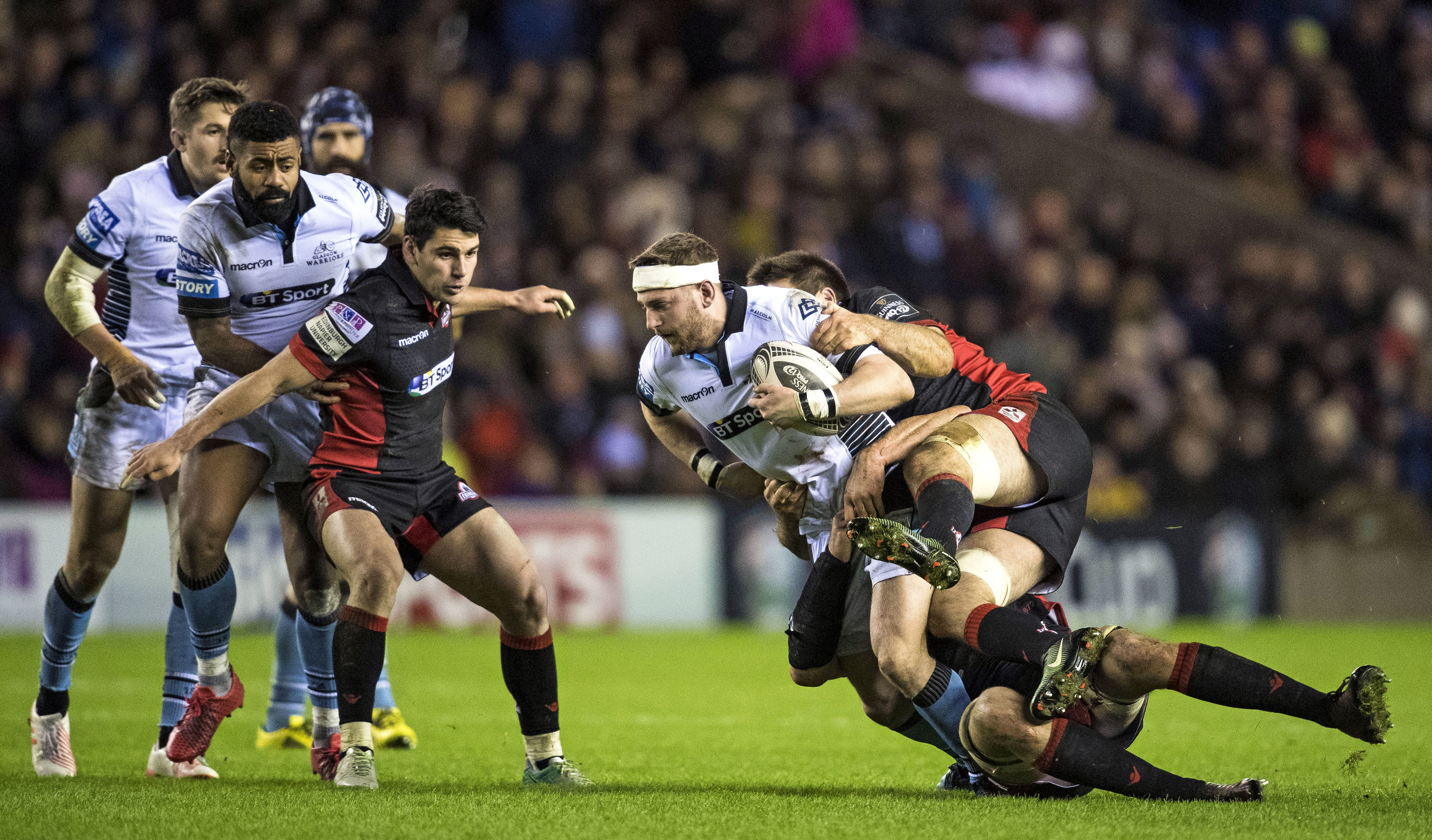 Glasgow Warriors and Edinburgh will play three times a season in the new Guinness PRO14 format.