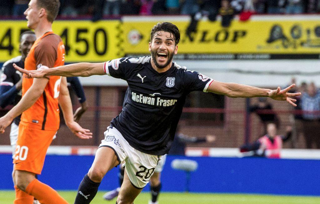 Dundee's Faissal El Bakhtaoui.