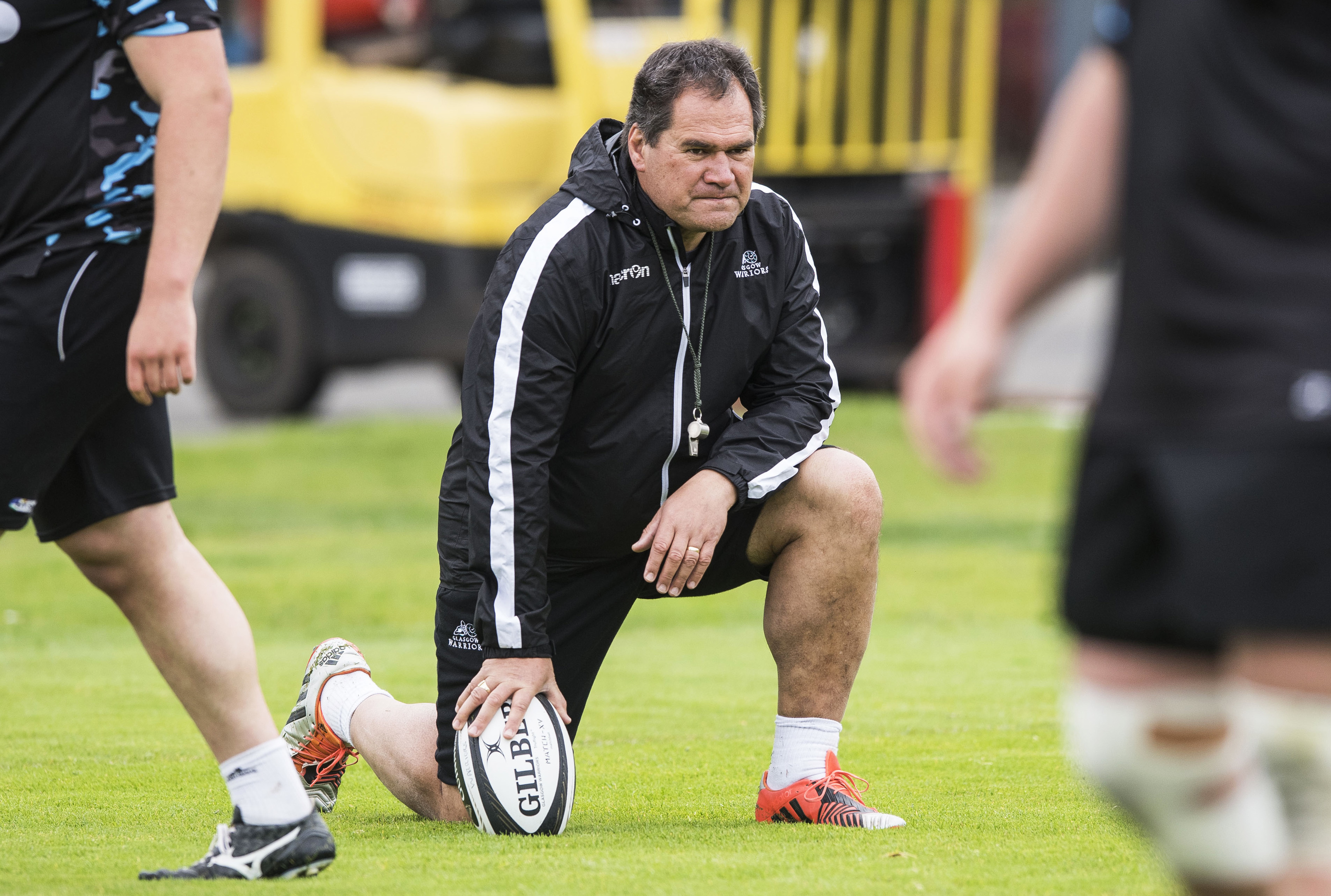 Glasgow Warriors' outgoing head coach Dave Rennie.