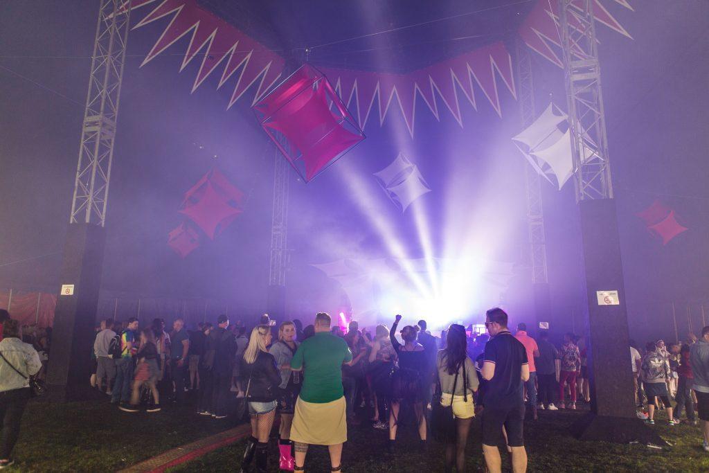 The Rhumba tent atmosphere