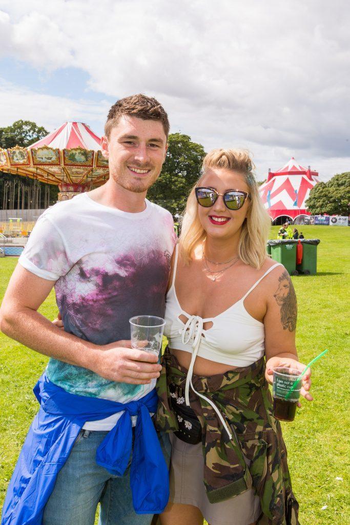 Sam Archibald (27) and Shanice Shepherd (25) from Kirkcaldy