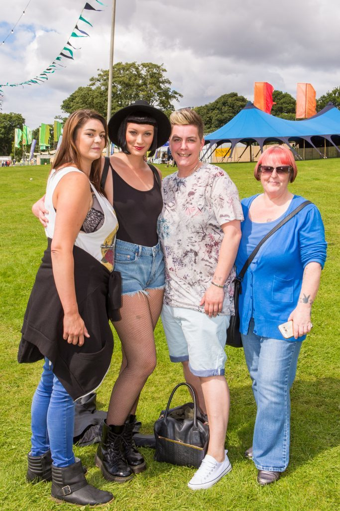 Lauren Hopkins (23), Rachael Robertson (31), Alana Black (33) and Michelle Kennedy (50) from Broughty Ferry, Whitfield and Menzieshill