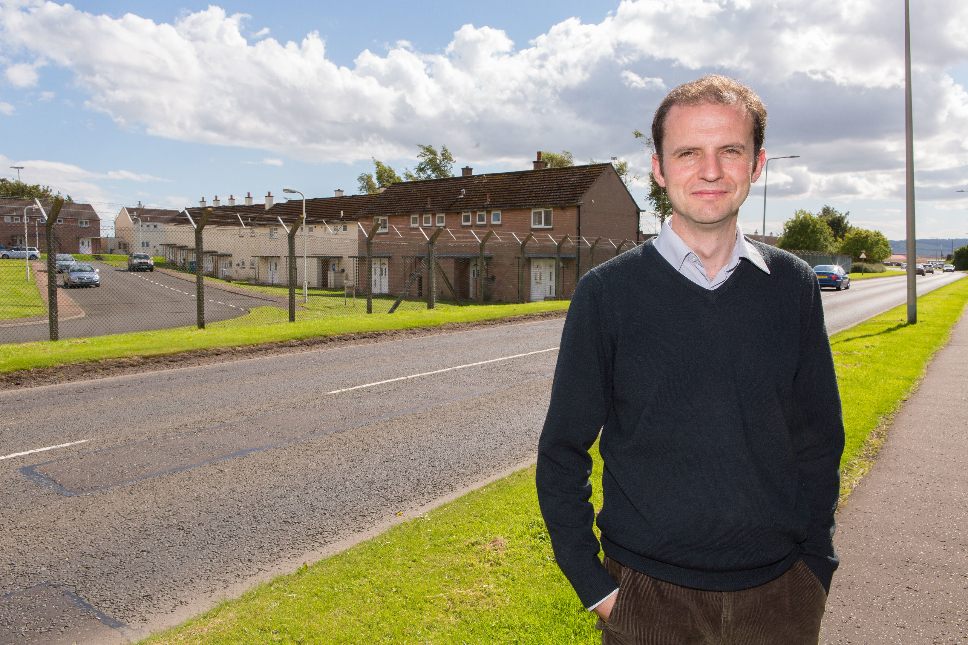 Stephen Gethins fears for the future of Leuchars airfield.