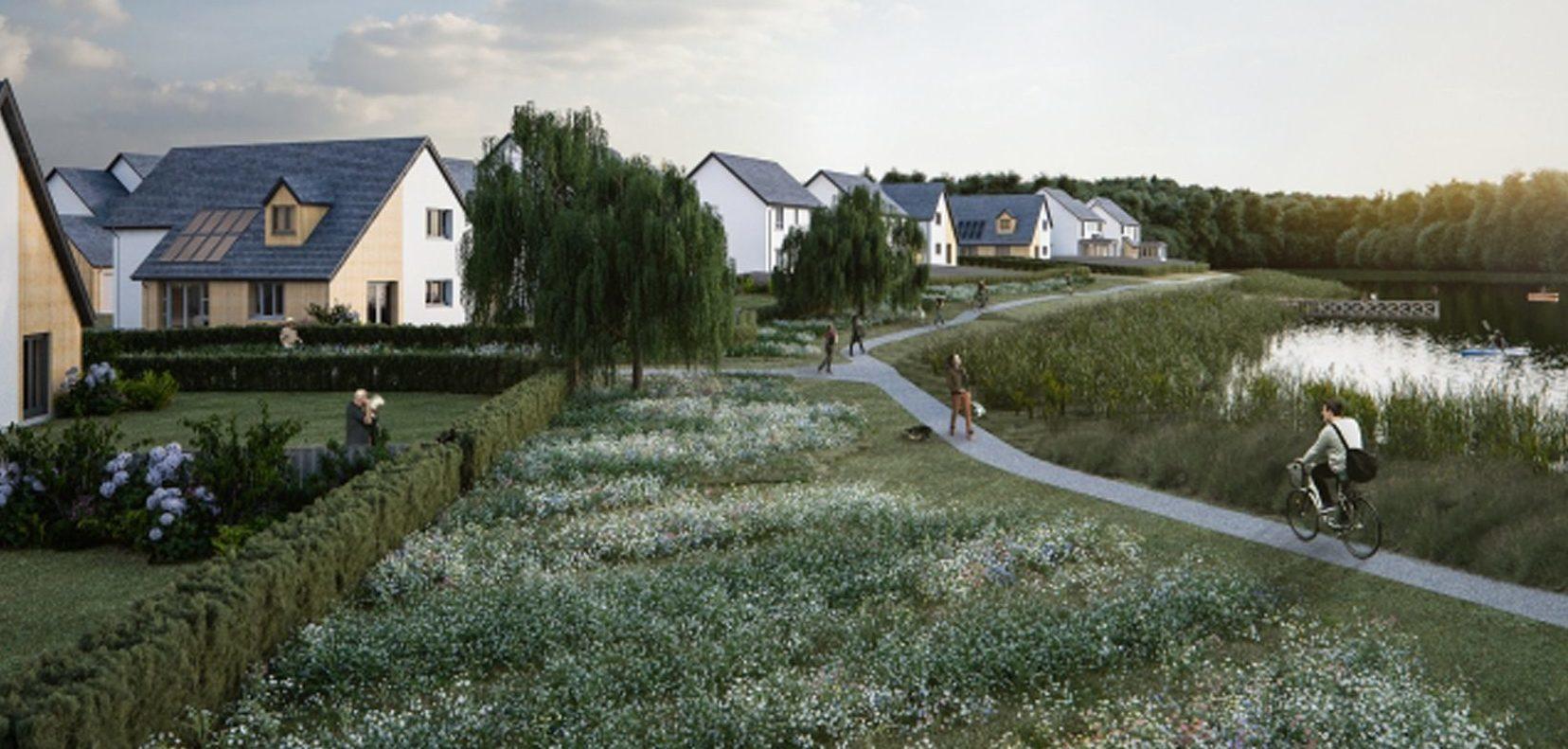 Proposed houses at Bertha Park, Perth.