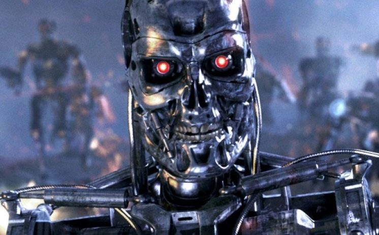 An image from the 1991 movie Terminator 2: Judgment Day. Could AI turn against humanity for real?