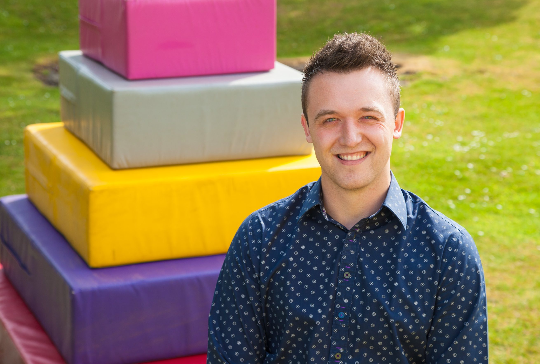 Jonathan Hazley of Dunfermline-based Team Challenge Company