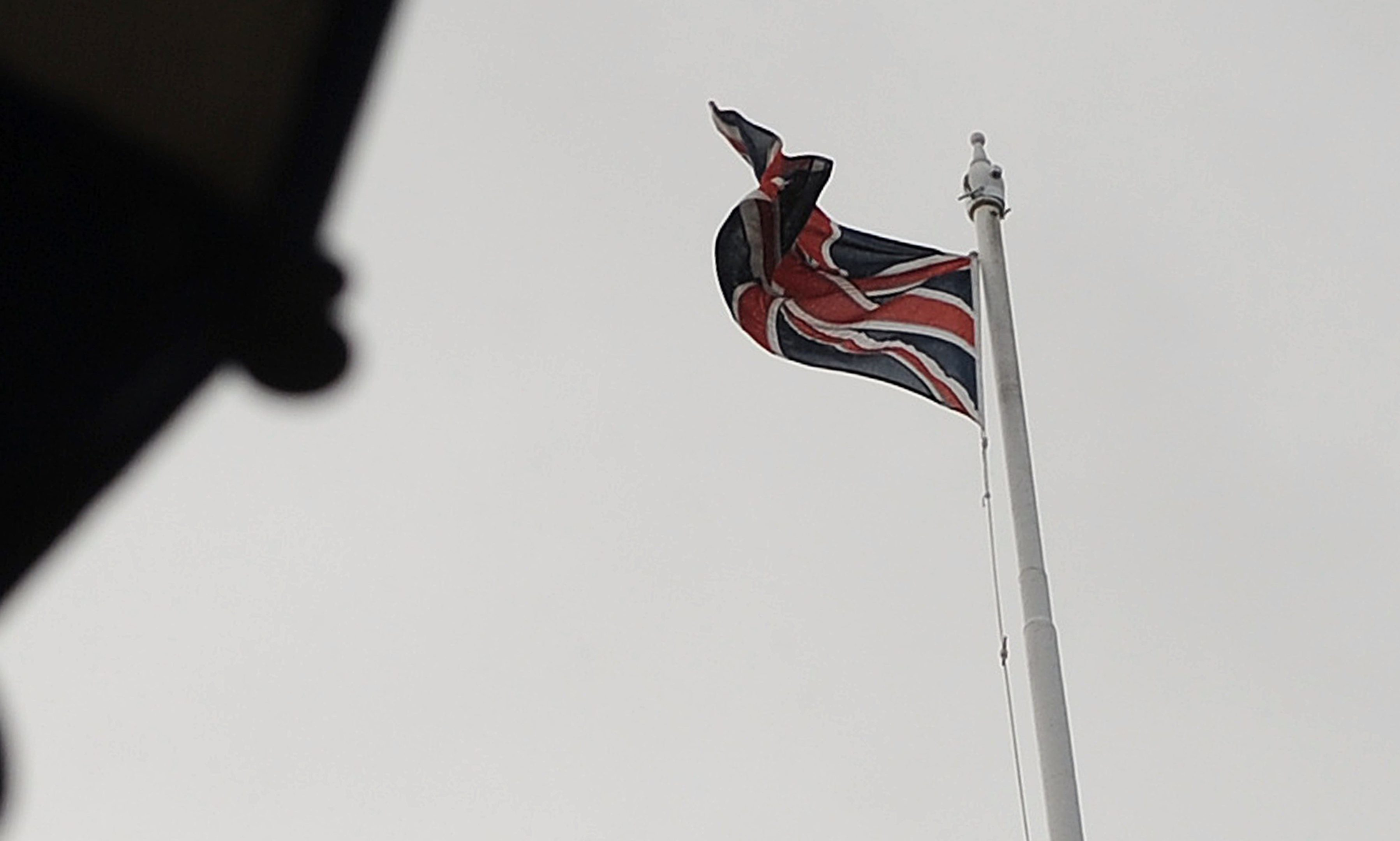 The Union flag at Perth and Kinross Council HQ.