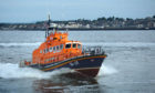 The all-weather and inshore lifeboats both raced to the scene.