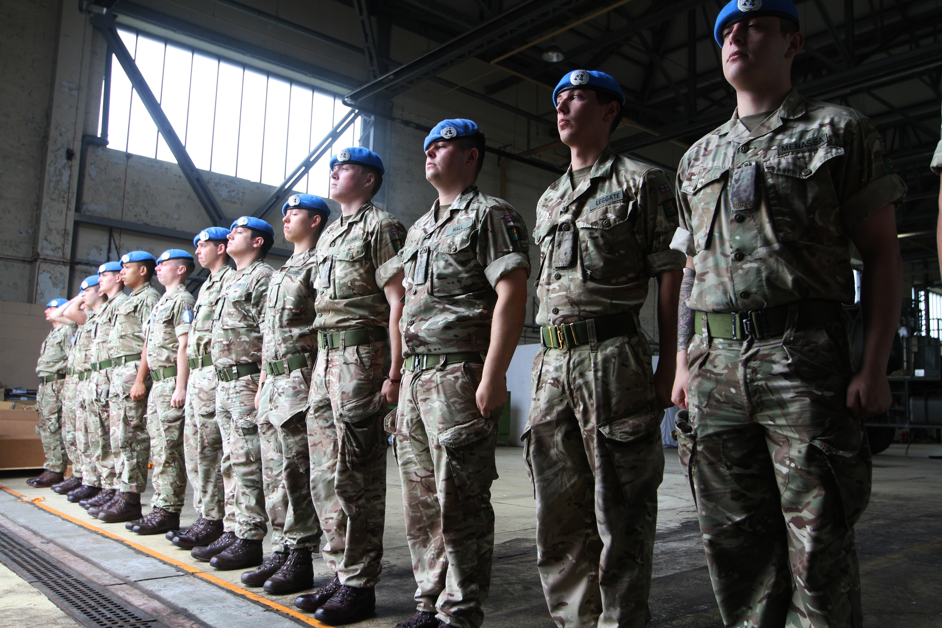 Soldiers leaving the armed forces - such as the Royal Scots Dragoon Guards in Leuchars - should be able to transfer to Police Scotland more easily, says an MSP.