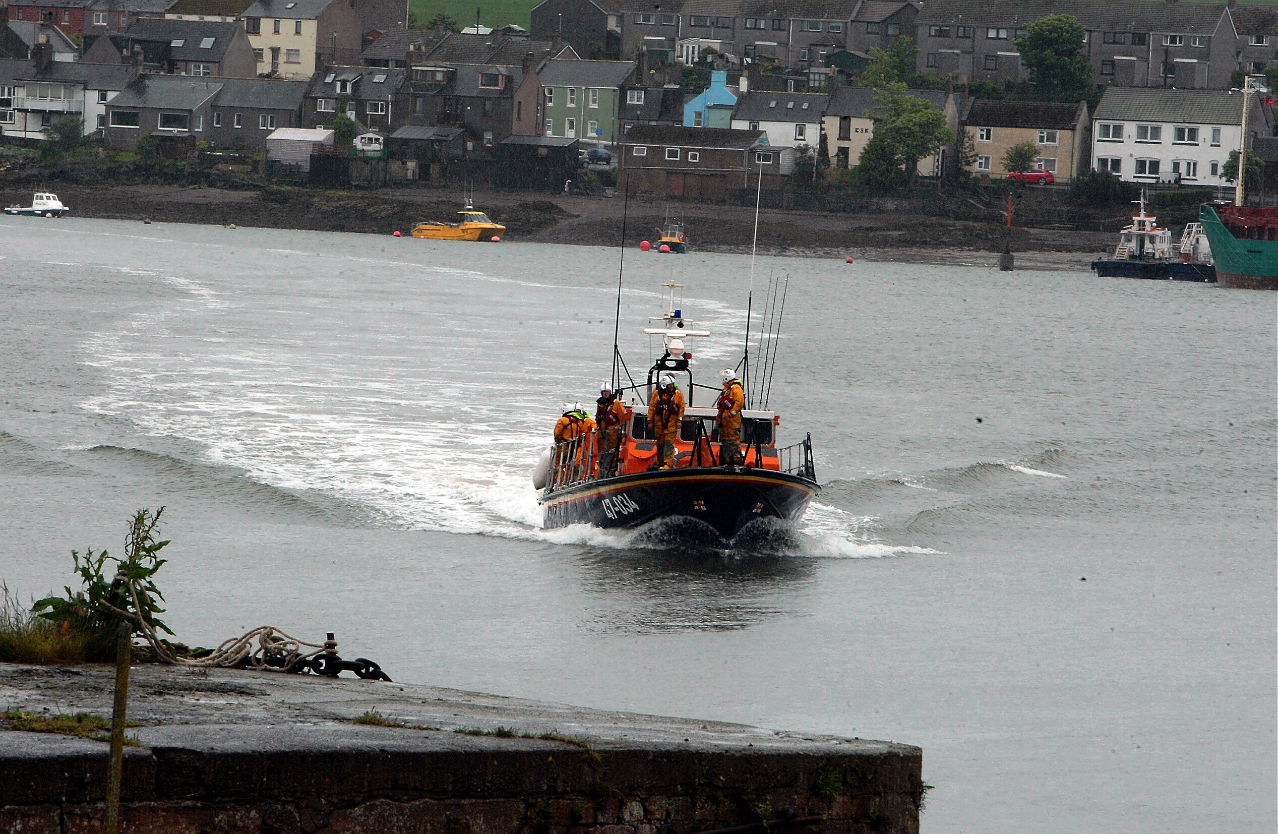 The Montrose RNLI.