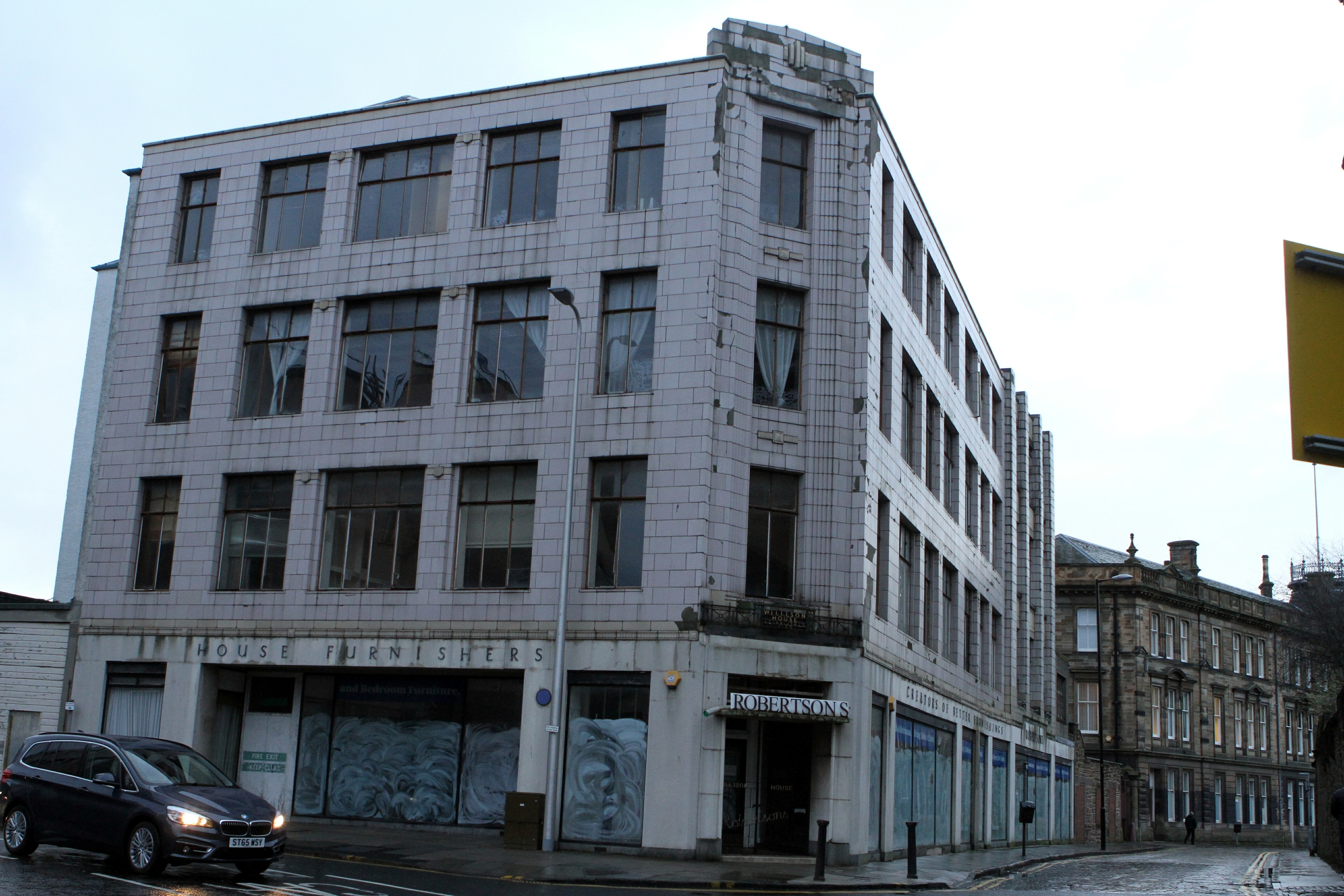 Plans have been lodged to knock down much of the building.