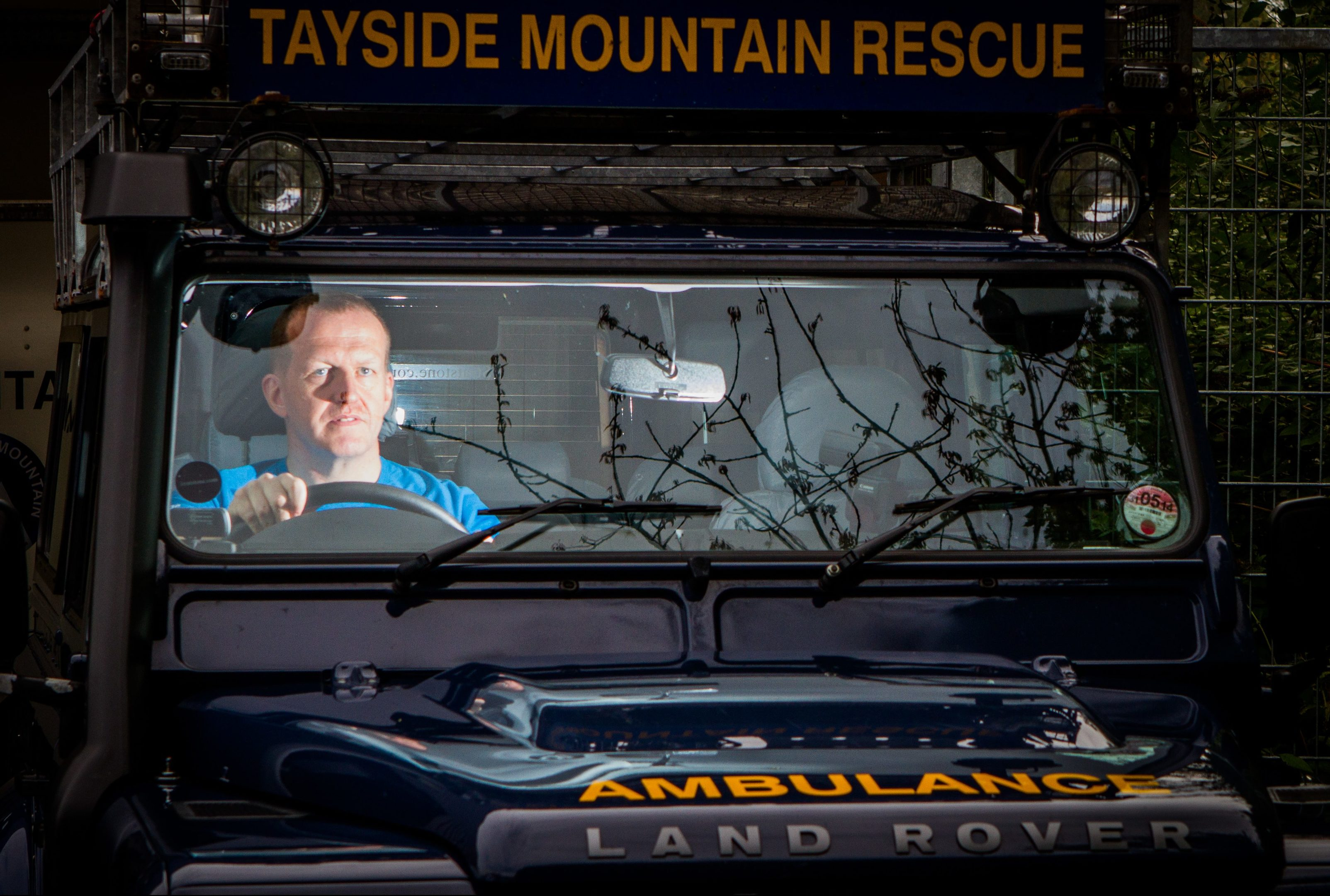 Tayside Mountain Rescue.