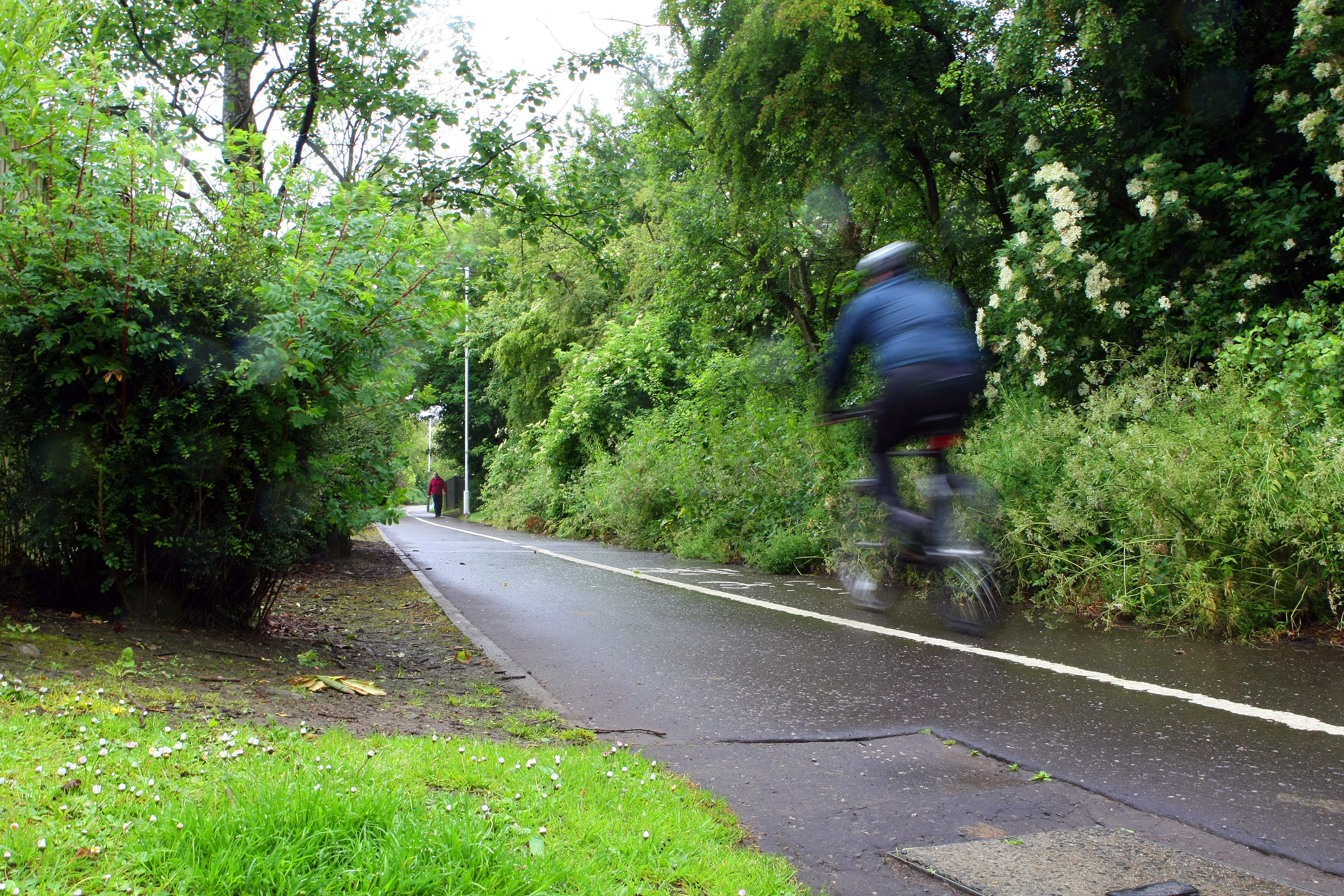 The cycle path at Boblingen Way. (library photo)