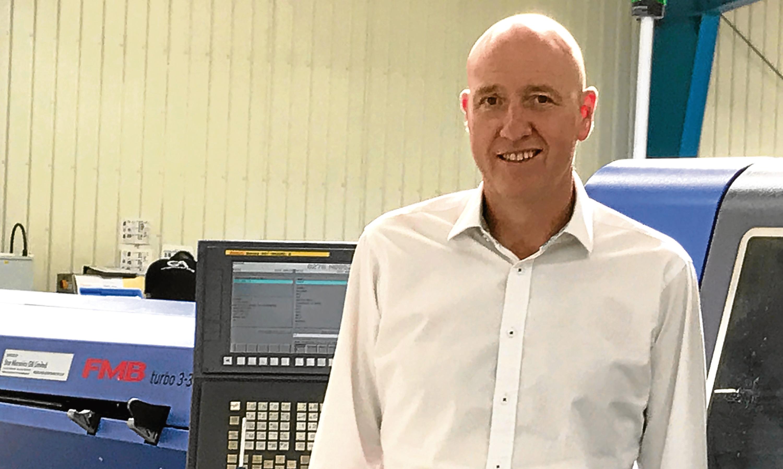 Steve Bruce, general manager of GA Sliding Head