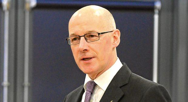 Education Secretary John Swinney.