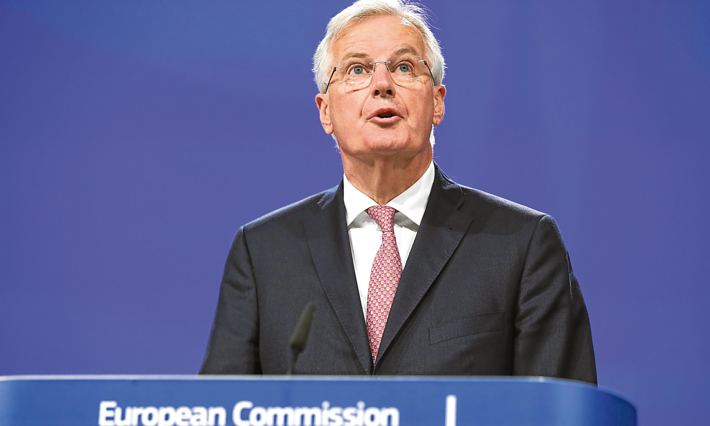 European Union chief negotiator Michel Barnier.