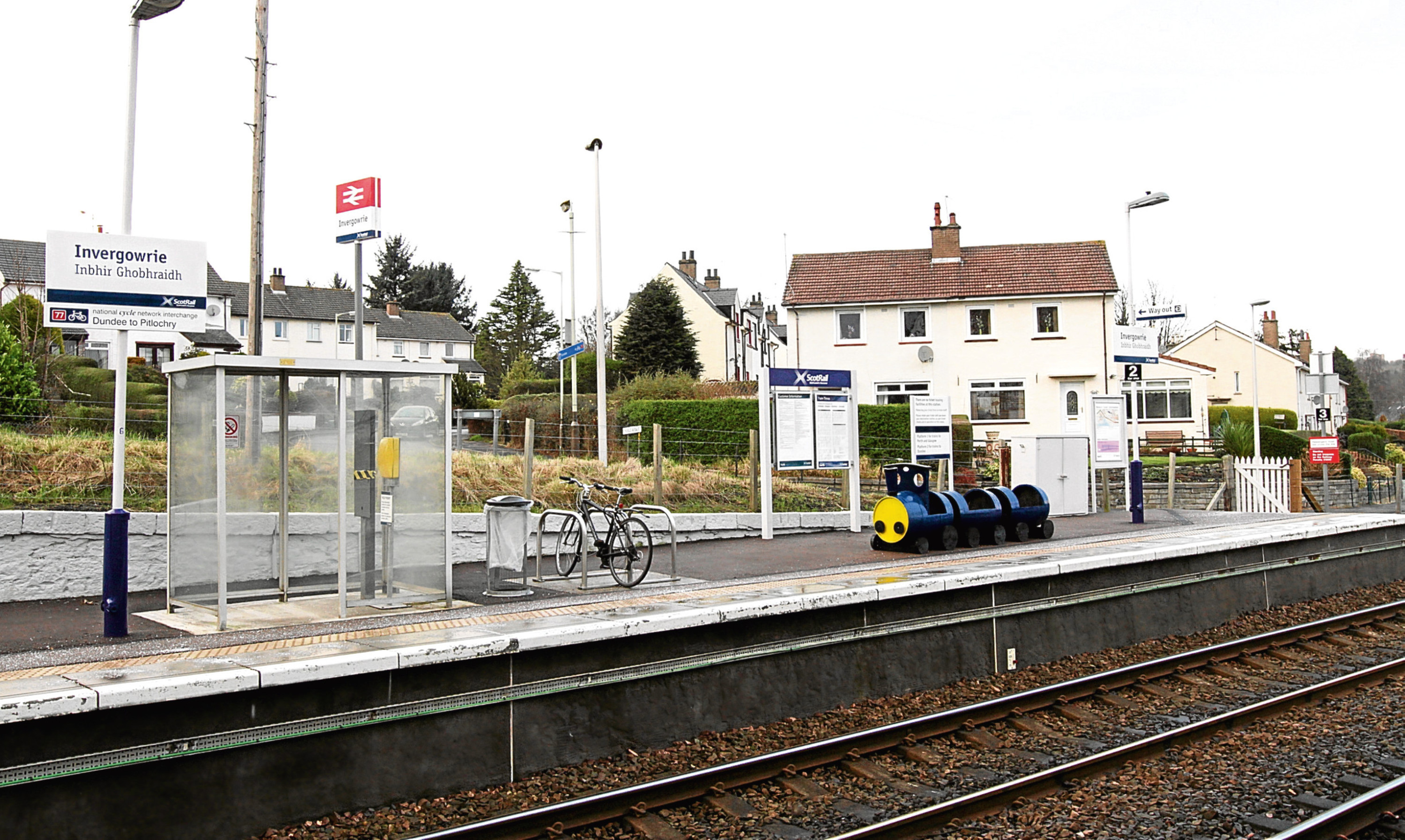 Invergowrie railway station is subject to a relocation proposal.