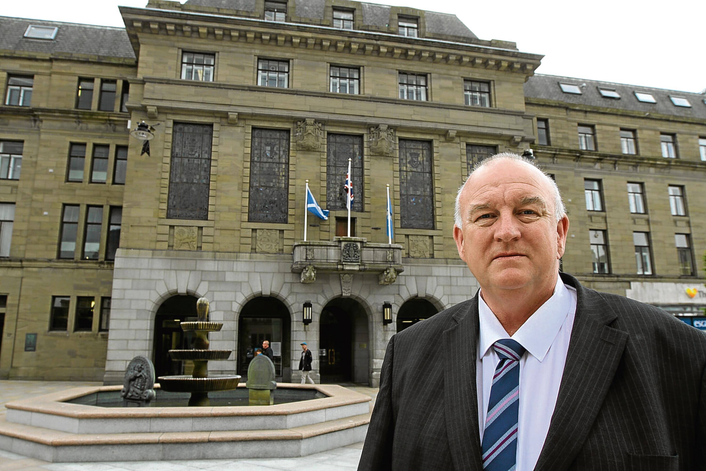 Labour group leader Kevin Keenan.