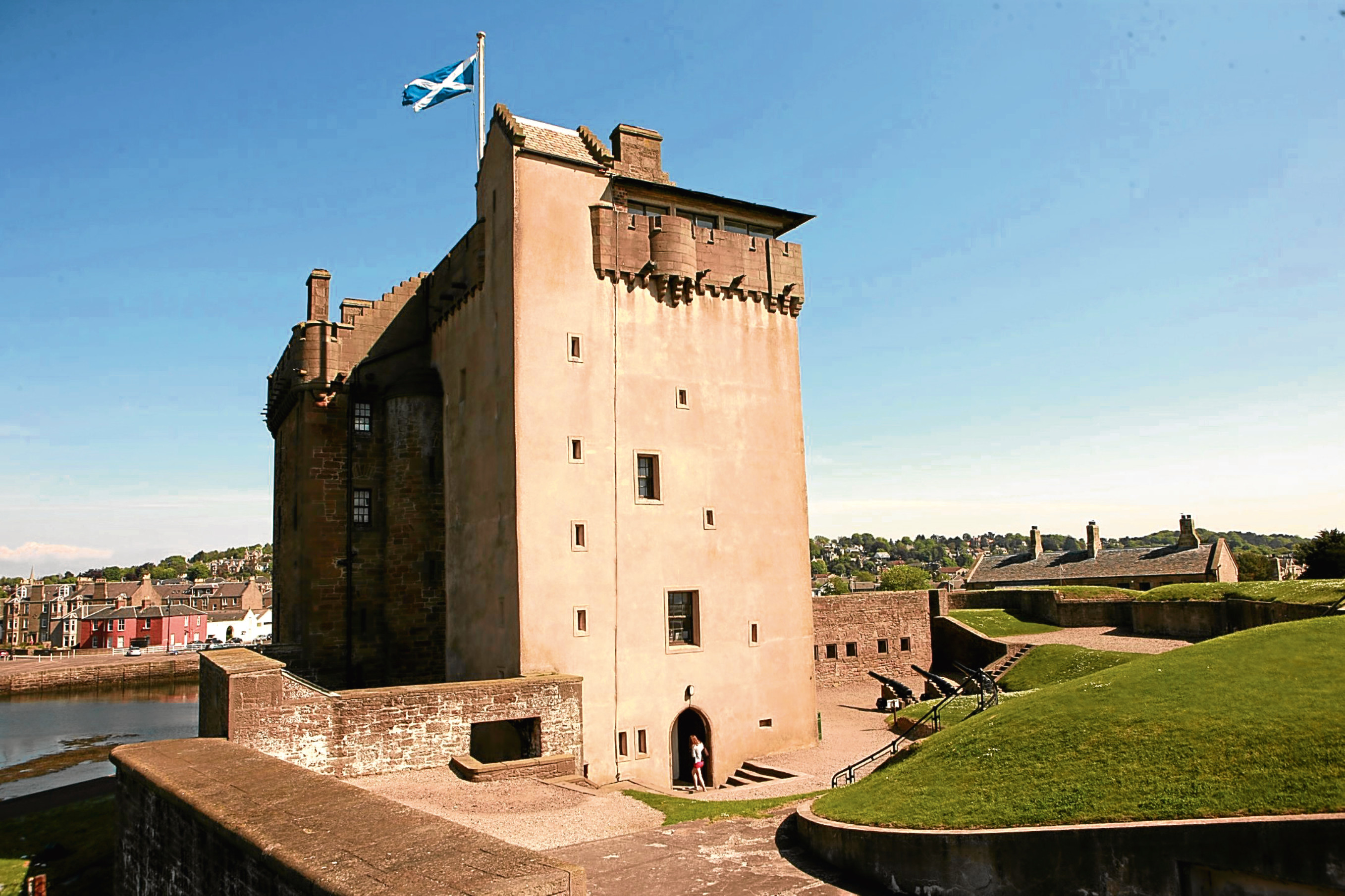 Broughty Castle.