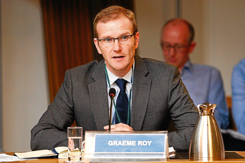 Graeme Roy, director of the Fraser of Allander Institute.