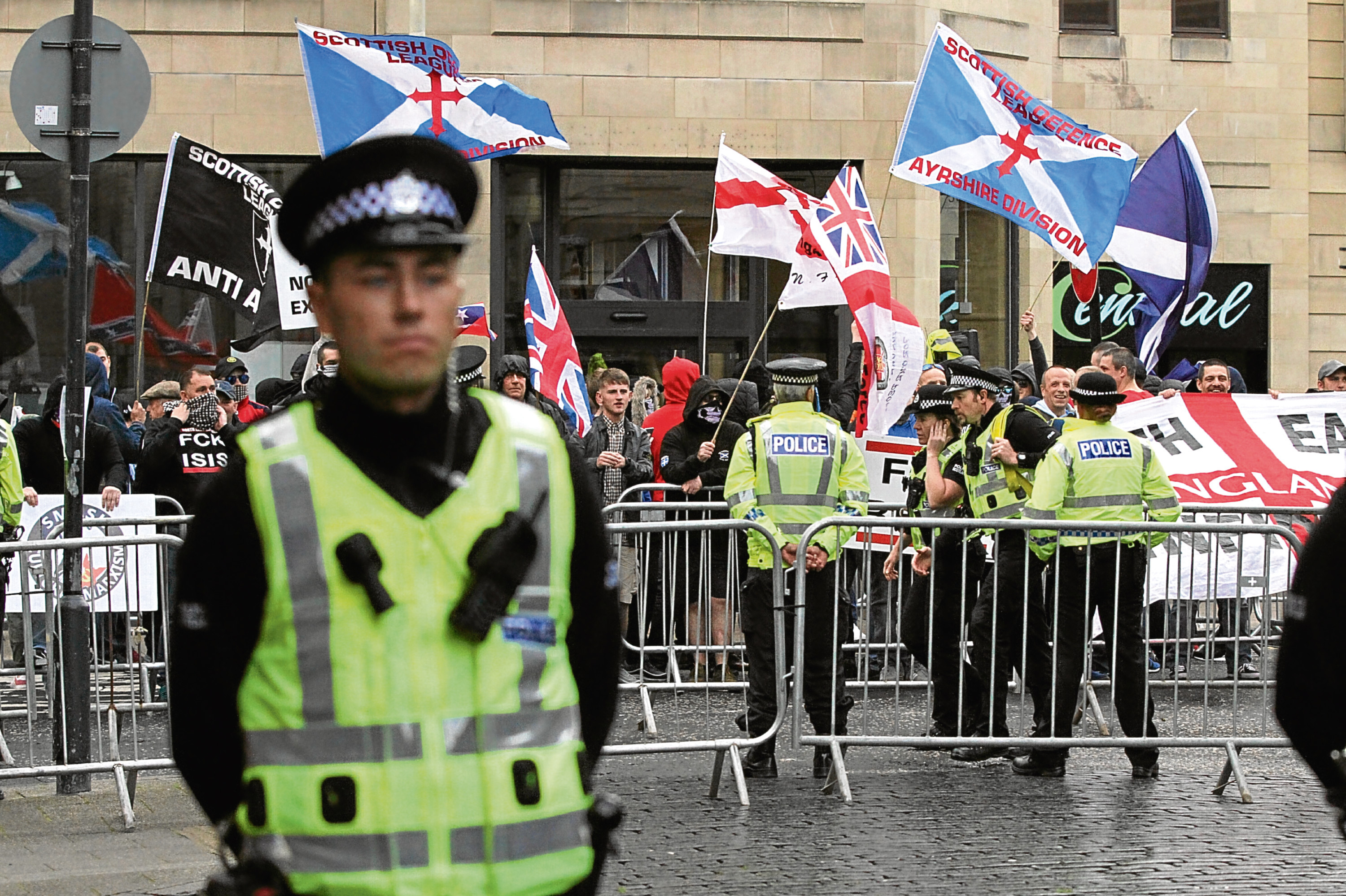 SDL protesters in Perth.