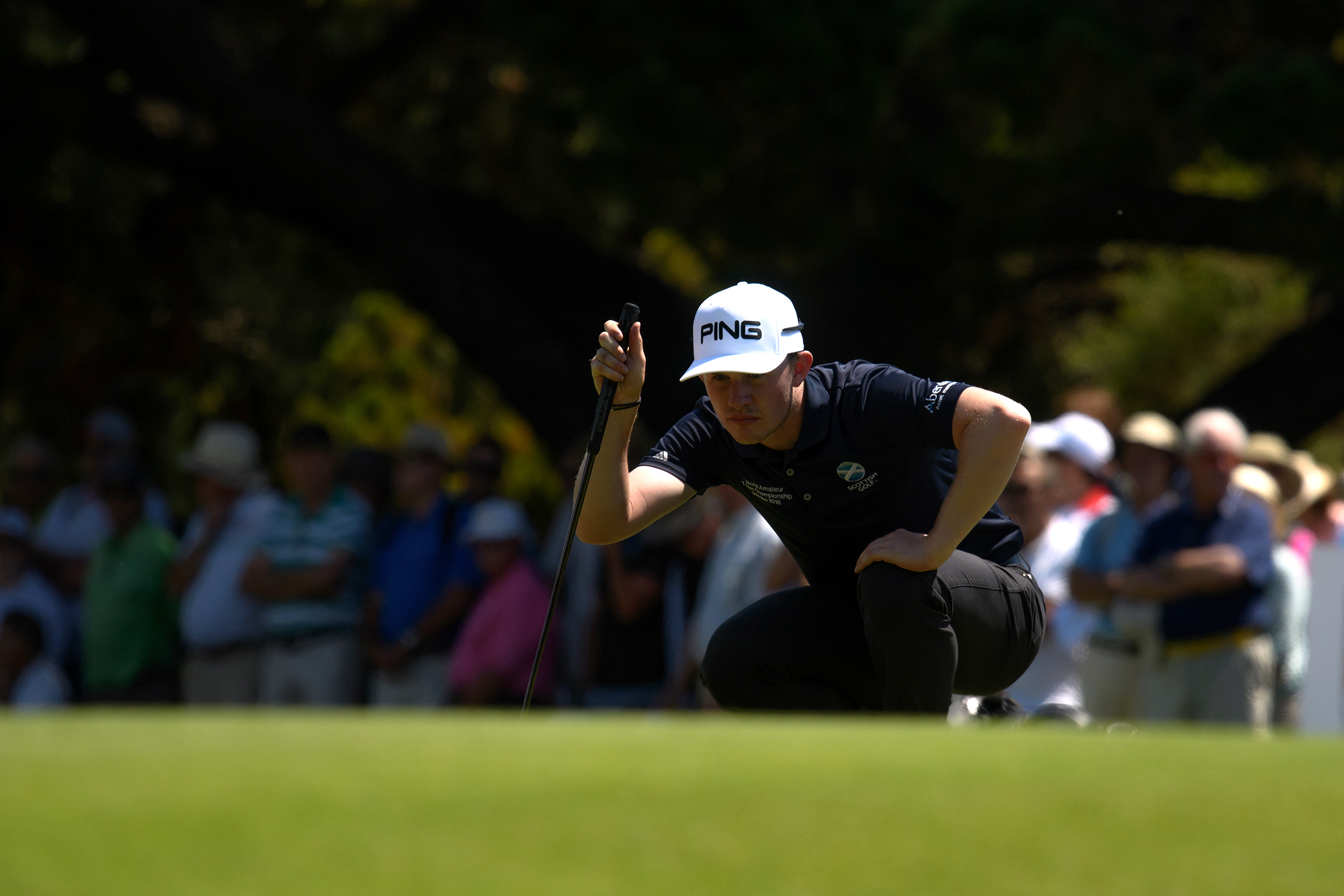 Drumoig's Connor Syme plays for GB&I in the Walker Cup at Los Angeles Country Club this weekend.