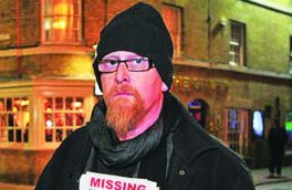 Martin McKeague has been anxiously waiting for news about his son's disappearance.