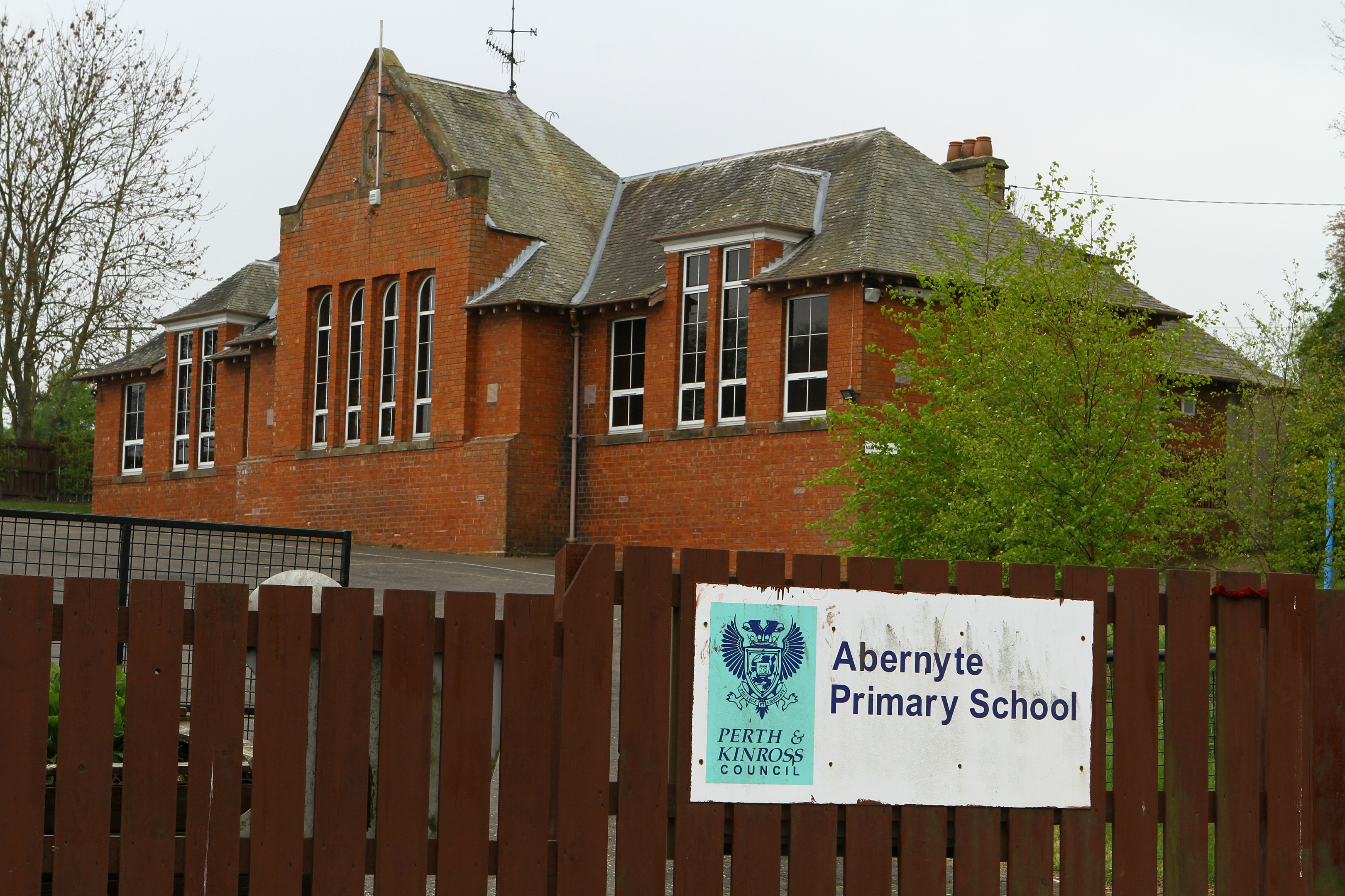 Abernyte Primary School.