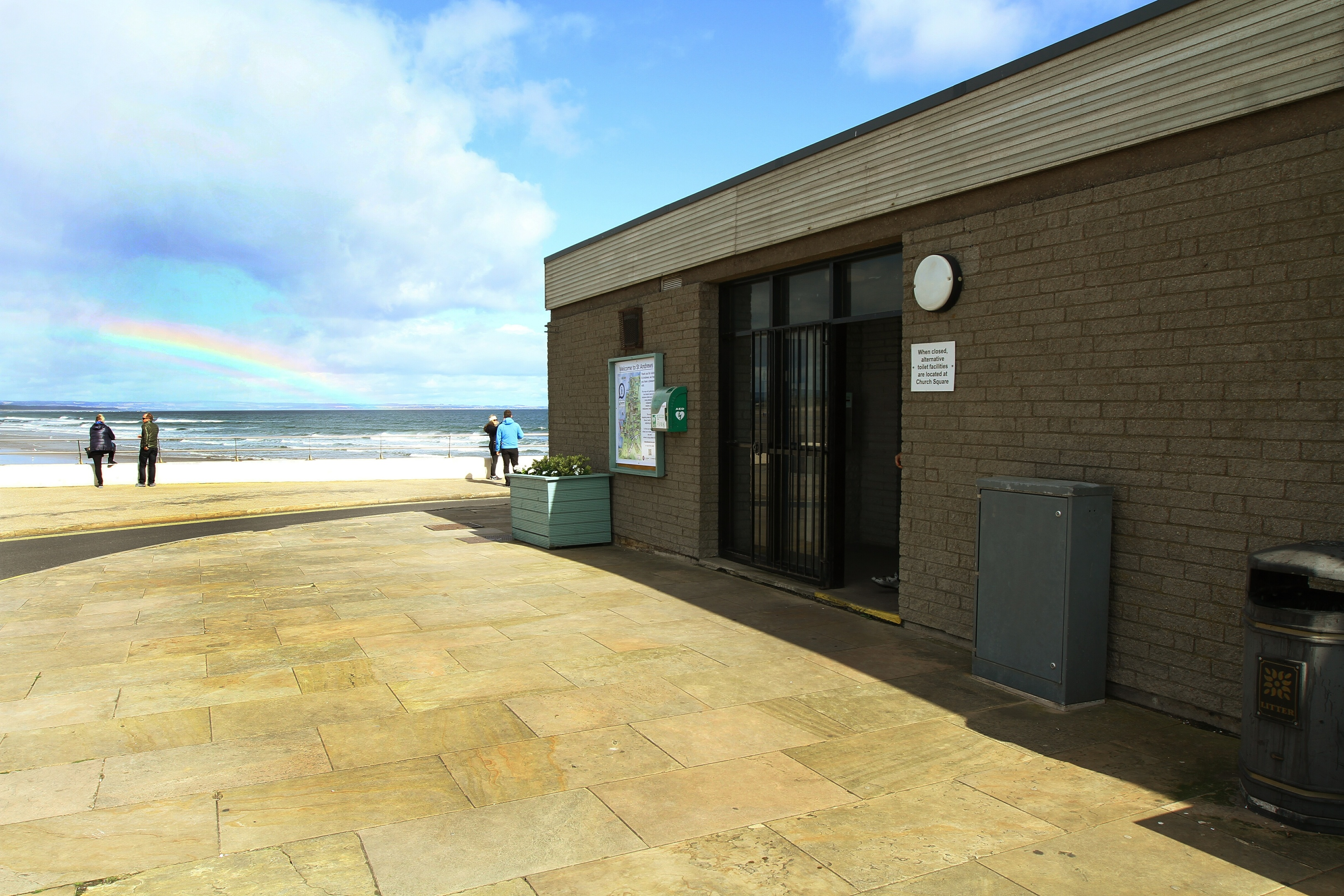 One of the public toilets in St Andrews.