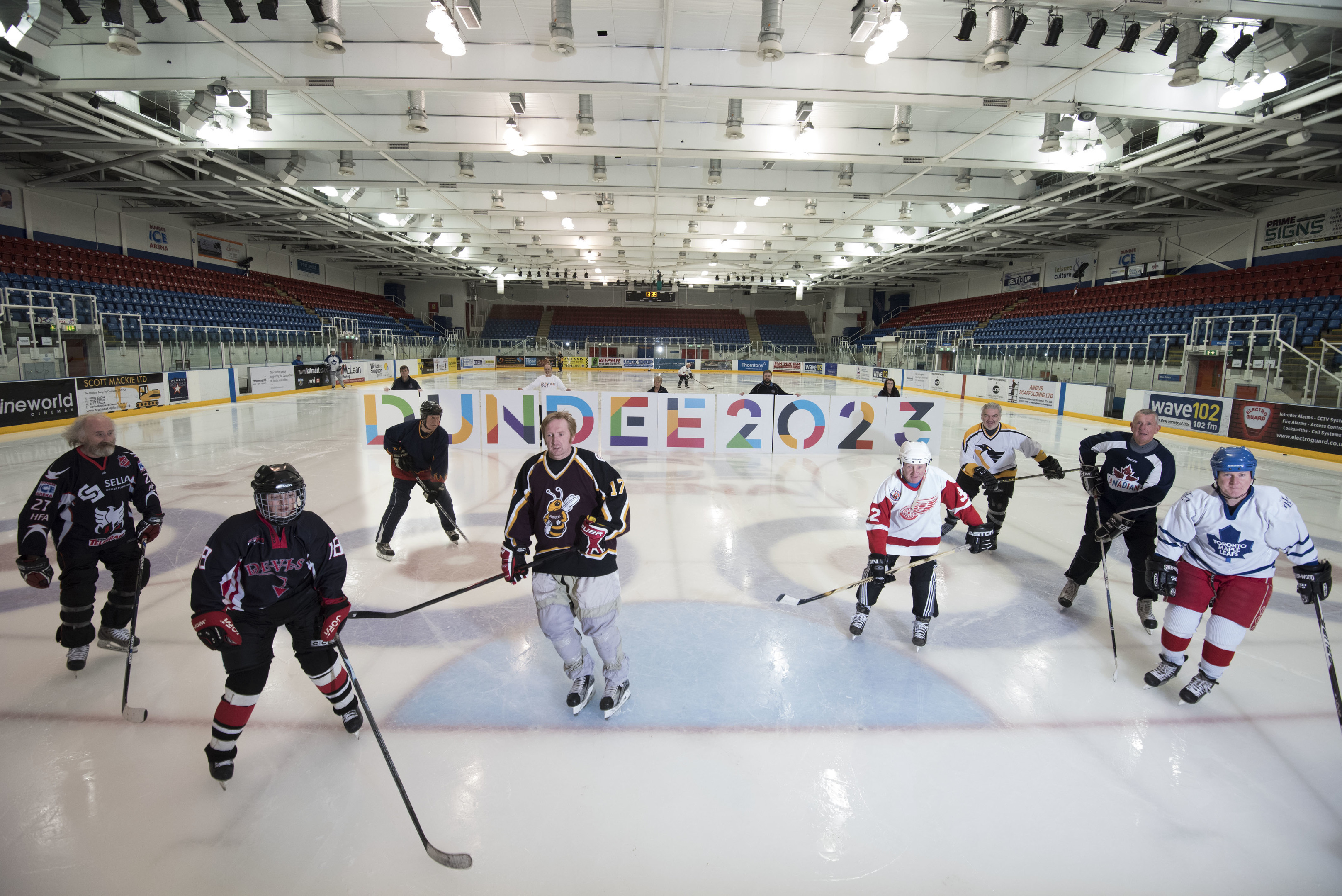 Dundee ice hockey veterans are supporting the Dundee 2023 bid
