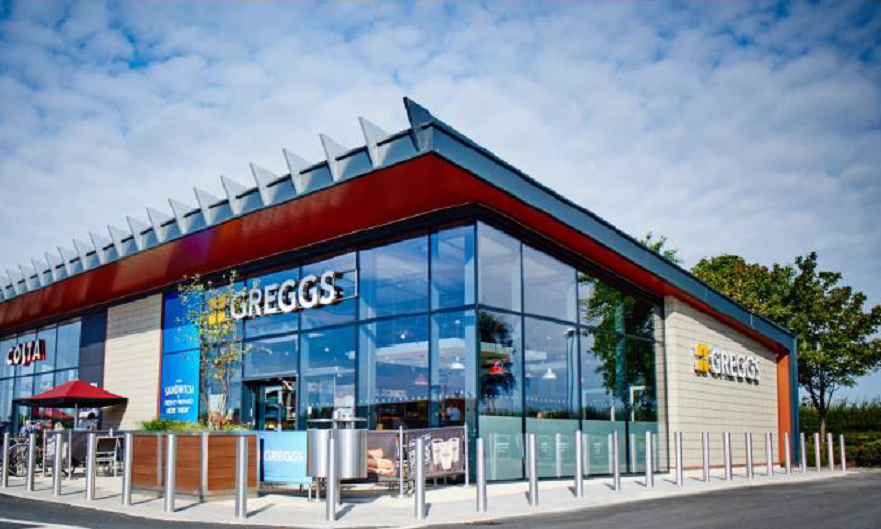 An illustrative Greggs outlet