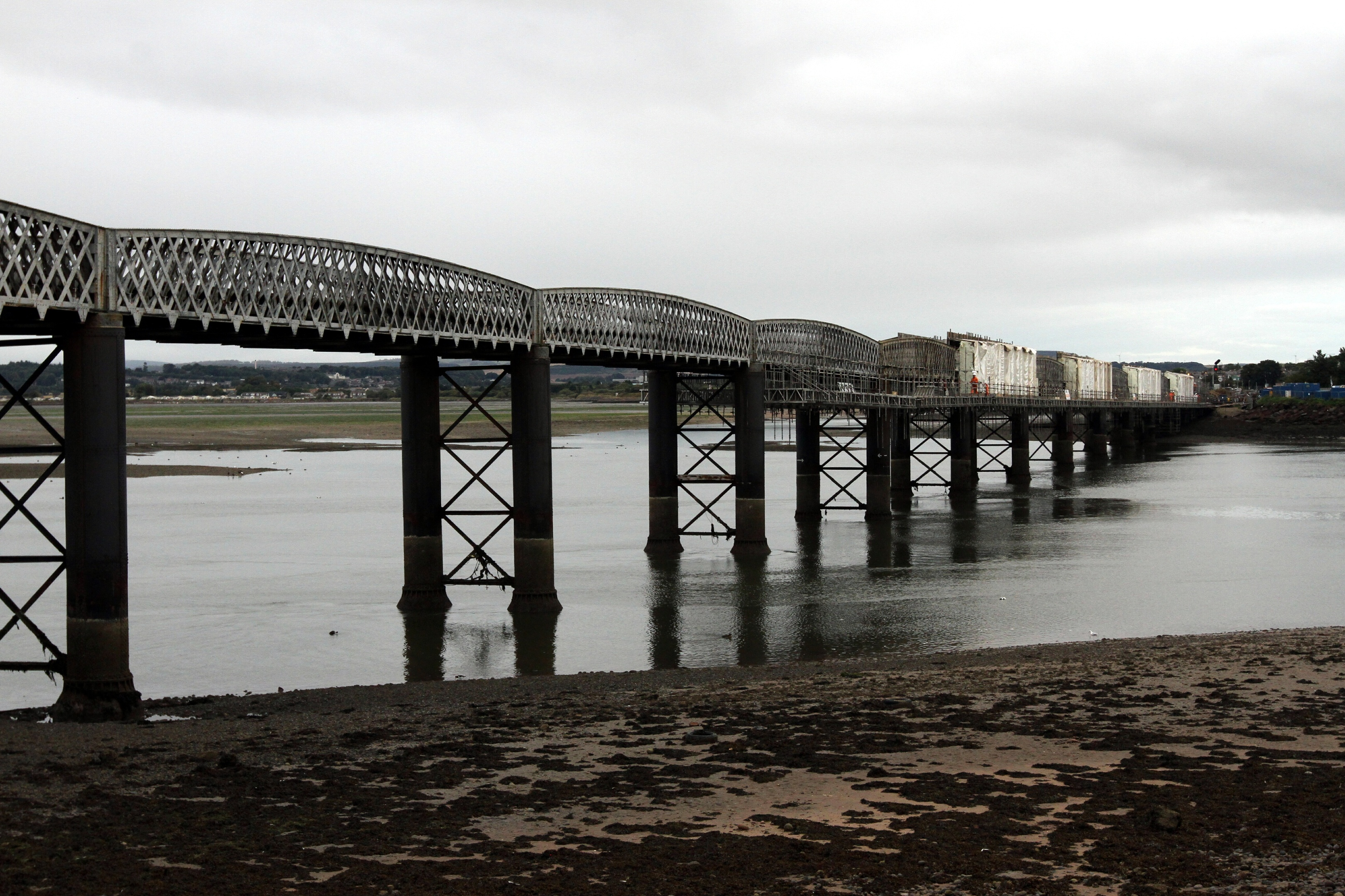 Usan junction sits south of the viaduct over Montrose basis