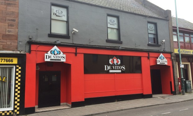 DeVitos nightclub in Arbroath.