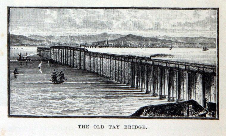 The first Tay Rail Bridge.