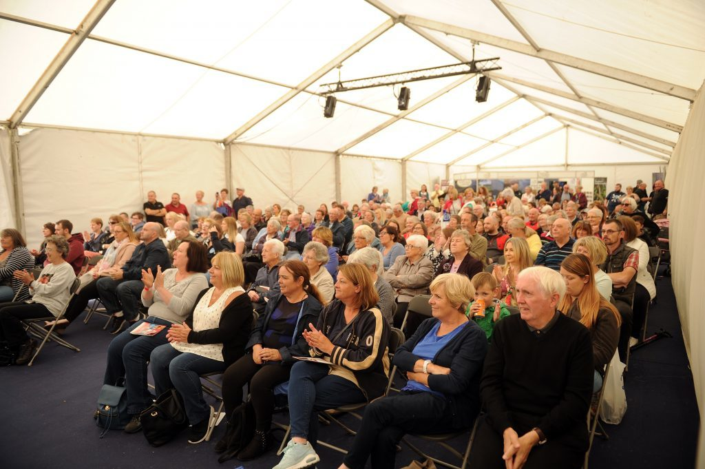 Audience for Tony Singh MBE cooking demonstration