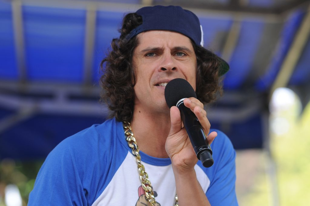 Andy Day wowed the audience with his Dino Rap on the Music Stage