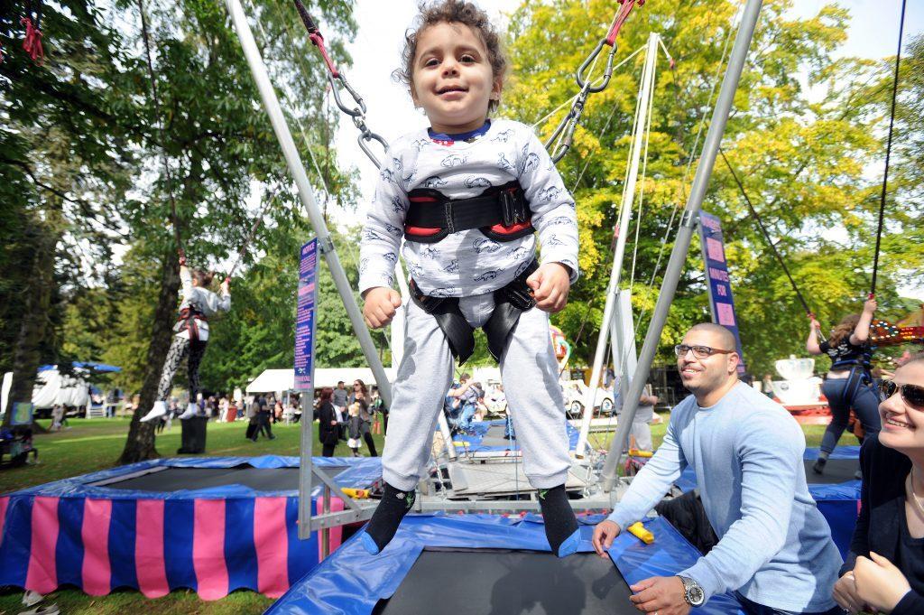 Enjoying the funfair is Hassan Jastania (2)
