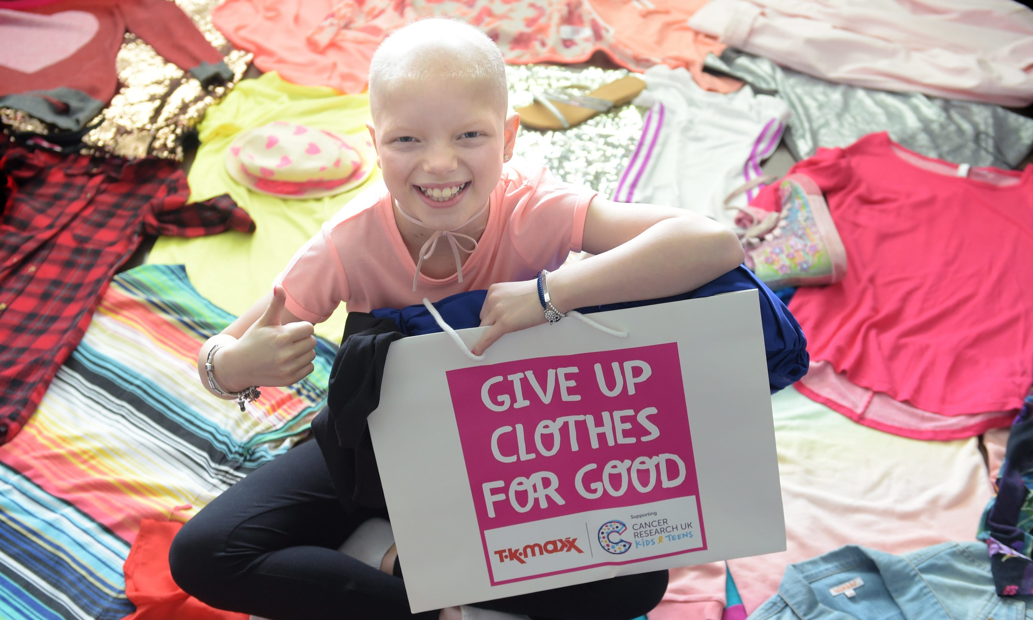 Lily Douglas will front the new Give Up Clothes for Good campaign