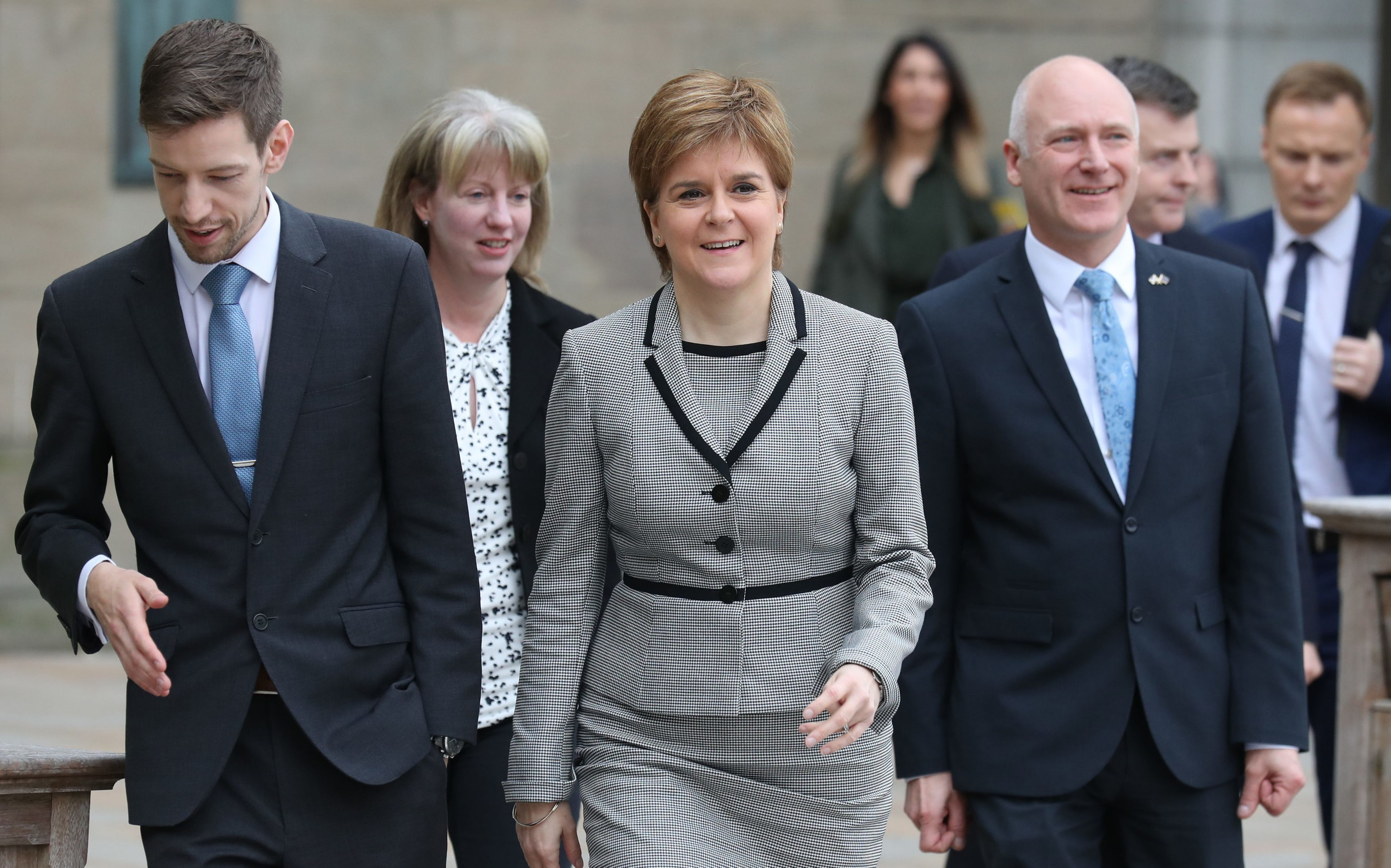 First Minister Nicola Sturgeon revealed Dundee would host the social security agency's headquarters last year.