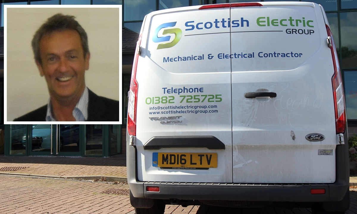 Thomas John Stodart was the owner of Scottish Electric Group, which has collapsed with the loss of 99 jobs.