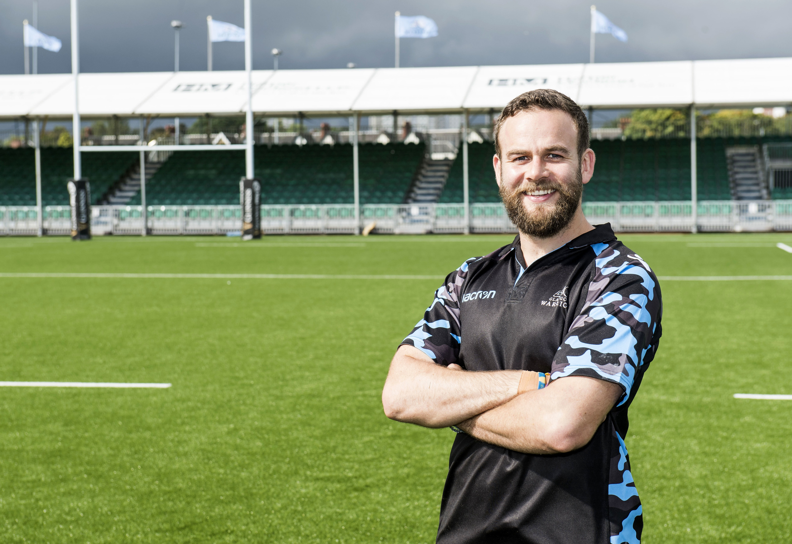 Glasgow Warriors' Ruaridh Jackson.